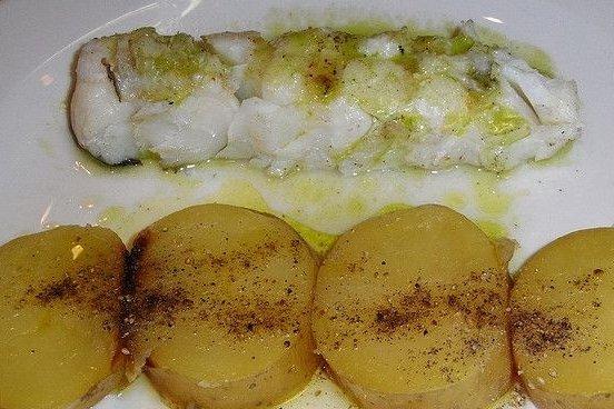 Receta de bacalao con patatas asadas