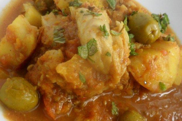 Receta de bacalao en salsa