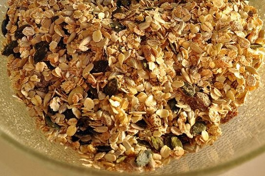 Receta de barritas de cereales