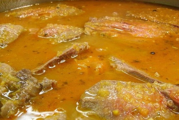 Receta de bistec ranchero en caldo