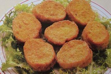Receta de bocaditos de pan frito