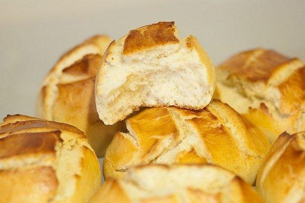 Receta de bollitos de pan