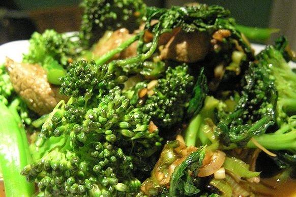 Receta de brócoli con salsa de soja