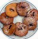 Receta de buñuelos de manzana