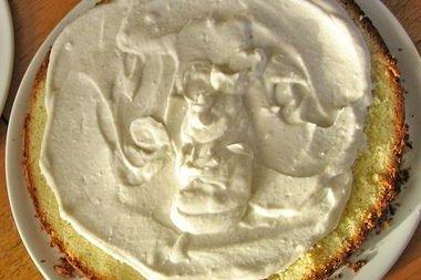 Receta de buttercream de queso