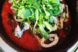 Receta de calamares en salsa de tomate