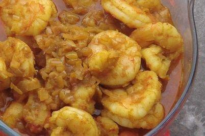 Receta de camarones al ajillo
