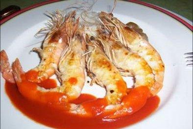 Receta de camarones marinados
