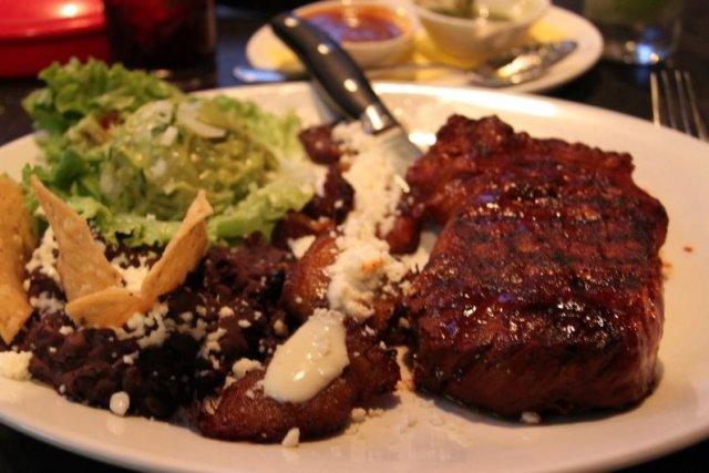 Receta de carne asada