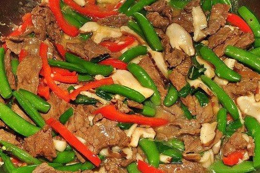 Receta de carne con champiñones
