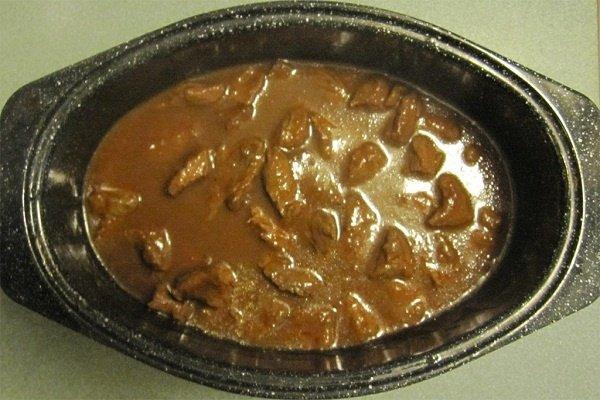 Receta de carne de ternera guisada