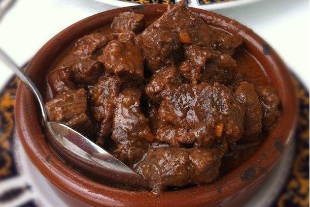 Receta de carne en su jugo