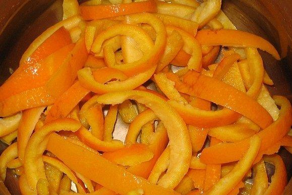 Receta De Cáscara De Naranja Confitada