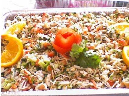 Receta de  ceviche de camarón con jaiba