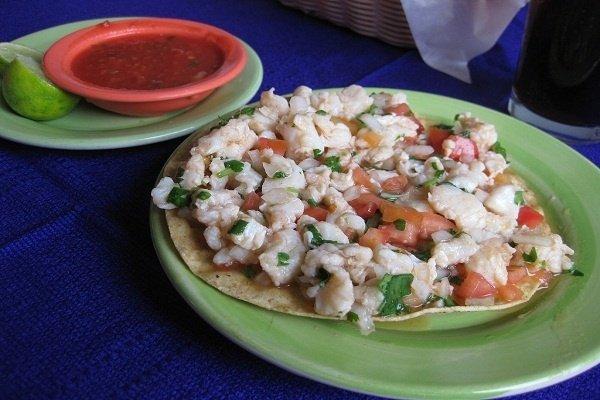 Receta de ceviche de pescado mexicano