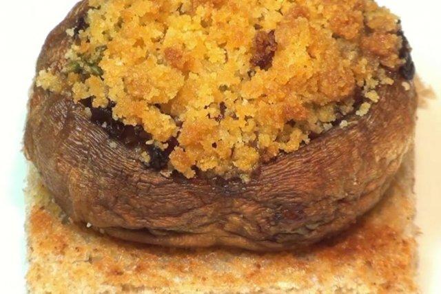 Receta de champiñón relleno