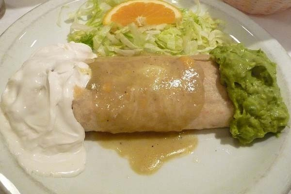 Receta de chimichanga