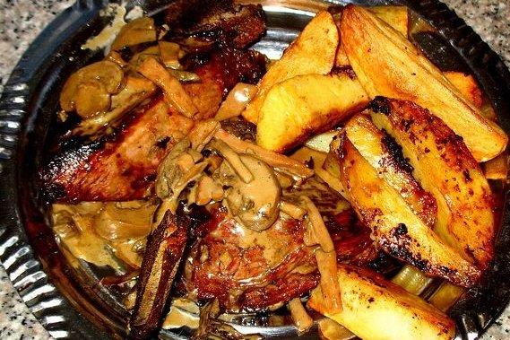 Receta de churrasco al horno