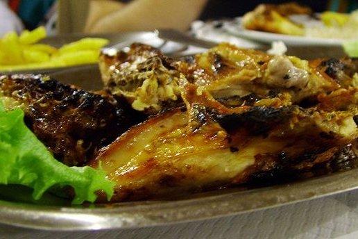 Receta de churrasco de pollo