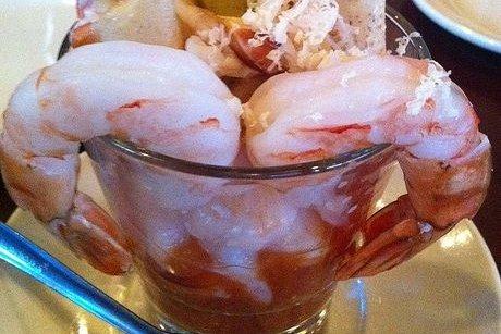 Receta de cóctel de camarones