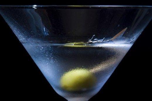 Receta de cóctel martini