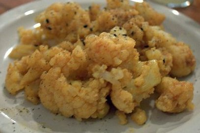 Receta de coliflor frita