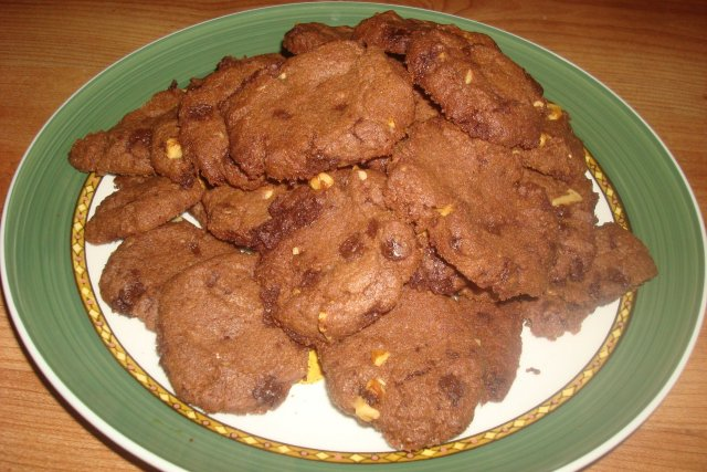 Receta de cookies de chocolate