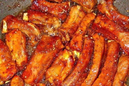 Receta de costillas de cerdo caramelizadas