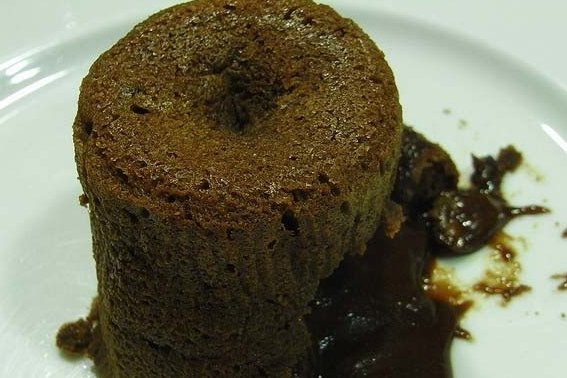 Receta de coulant de chocolate