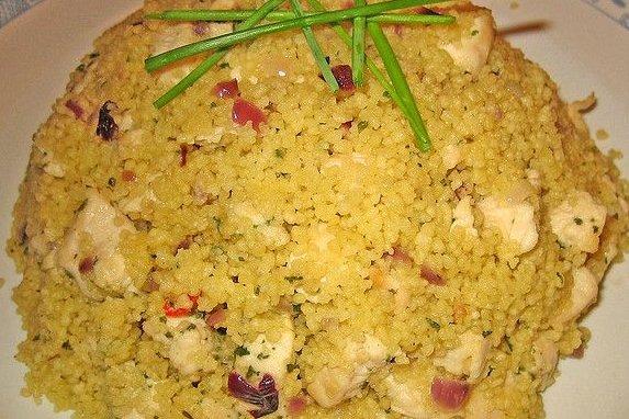 Receta de cous cous con pollo
