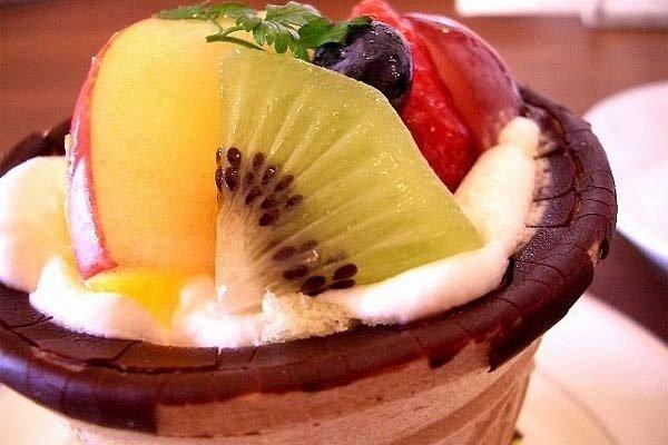 Receta de crema de fruta