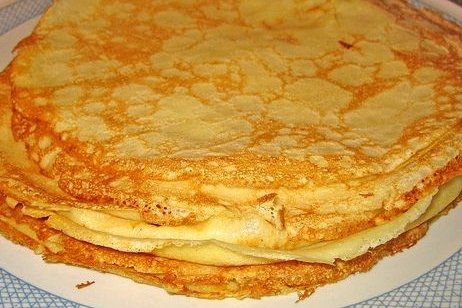 Receta de crepes thermomix