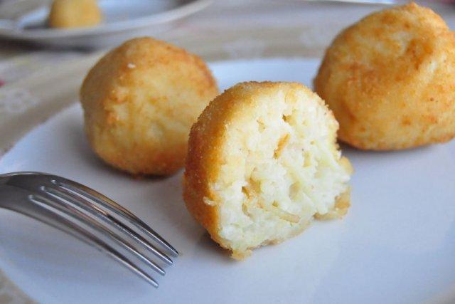 Receta de croquetas de fideos y queso