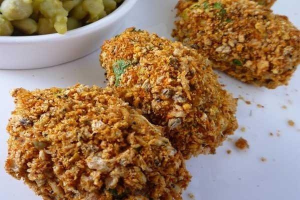 Receta de croquetas de pollo con avena