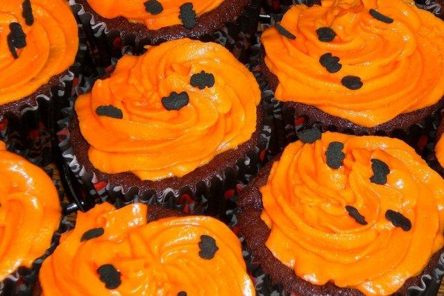 Receta de cupcakes de calabaza