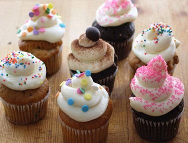 Receta de cupcakes de frutas