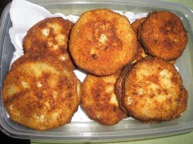 Receta de delicias de berenjena
