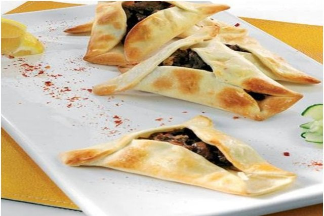 Receta de empanada árabe (fatay)
