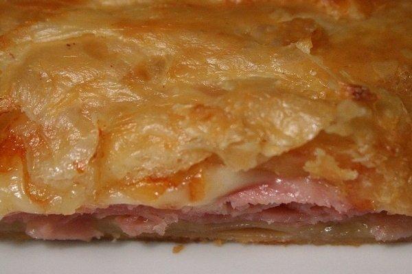 Receta de empanada de jamón york y queso