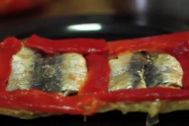 Receta de empanada de sardinas