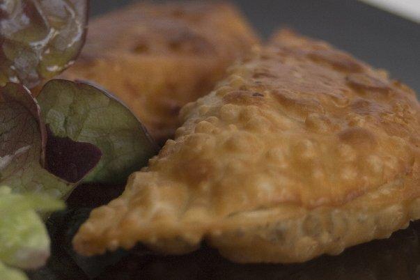 Receta de empanadas de pollo cremosas
