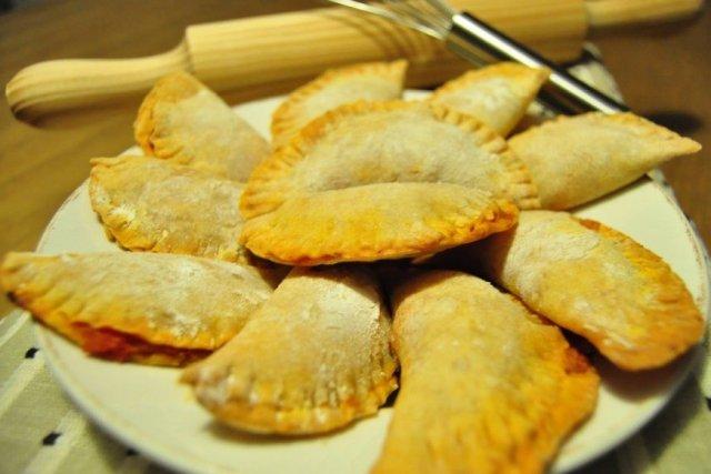 Receta de empanadillas al horno con masa casera