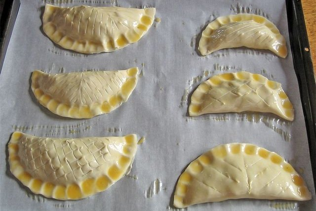 Receta de empanadillas al horno