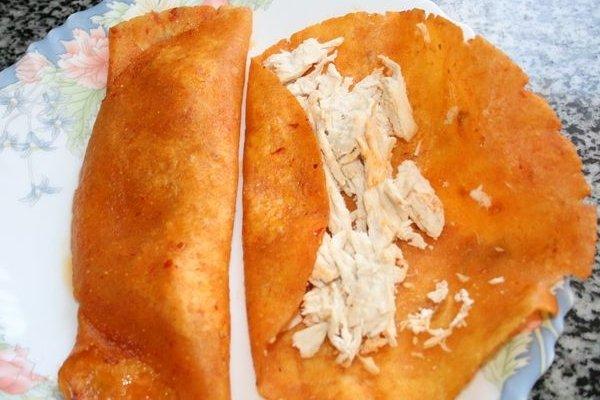 Receta de enchiladas