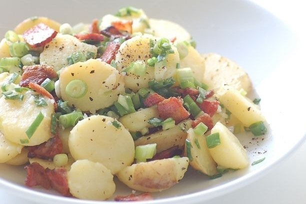 Receta de ensalada alemana de patata