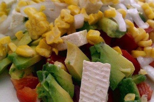 Receta de ensalada con aguacate