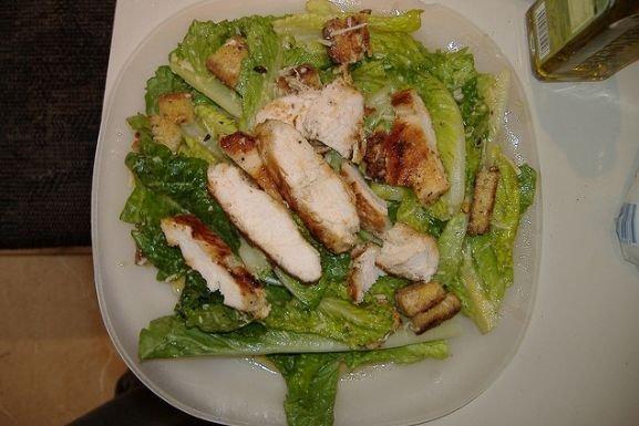 Receta de ensalada con pollo
