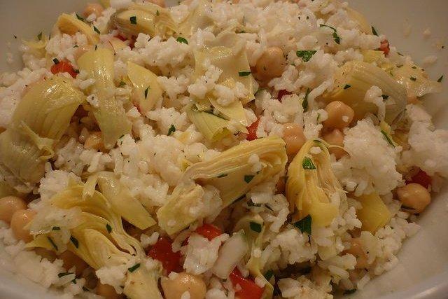 Receta de ensalada de alcachofas