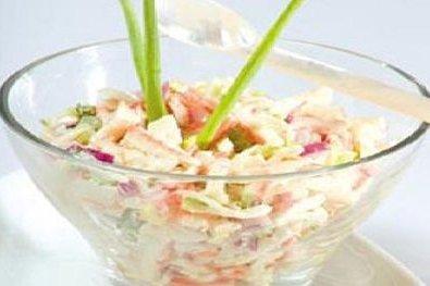 Receta de ensalada de cangrejo