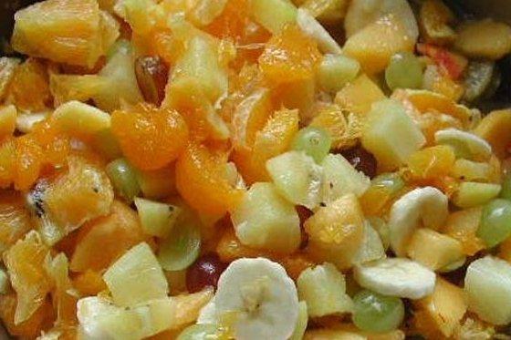 Receta de ensalada de fruta natural